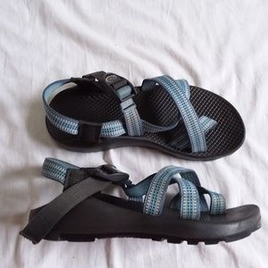 Chaco Z2 Blue USA Made Sandal Women's 7